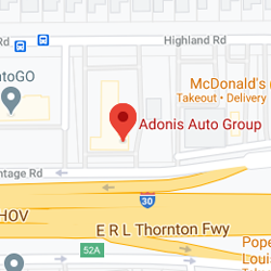 Google map of Adonis Auto Group