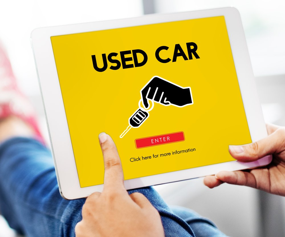 research used car shopping